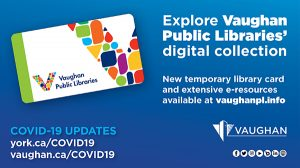 News from The Vaughan Public Libraries
